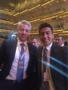 Great meeting with Mr. Bill Ackman, Founder and CEO of Pershing Square Capital Management
